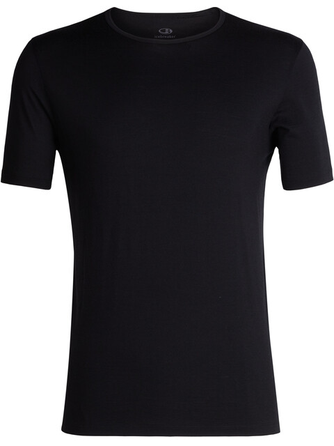 Icebreaker 200 Tech SS Crew Shirt Men Black